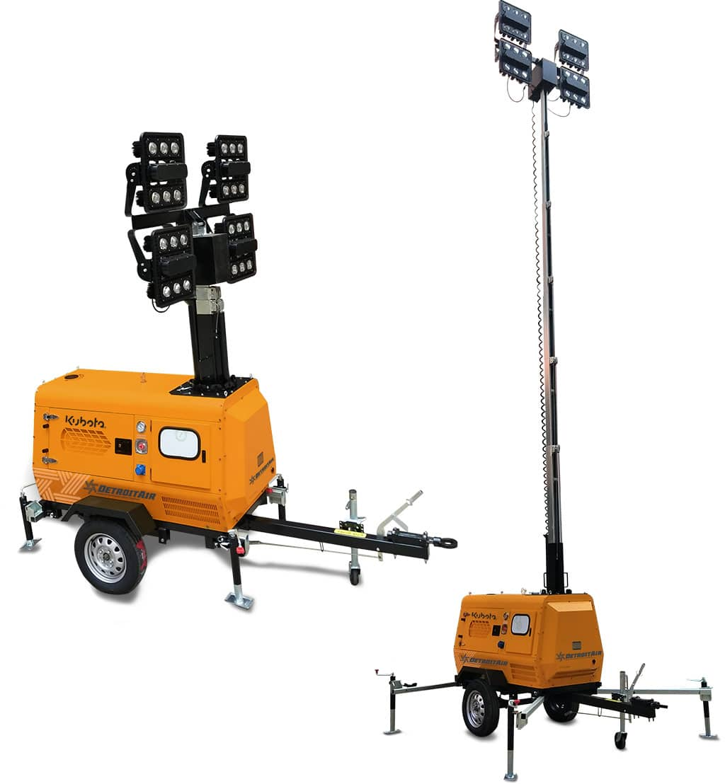 Detroit Mobile Light Towers - DT-50