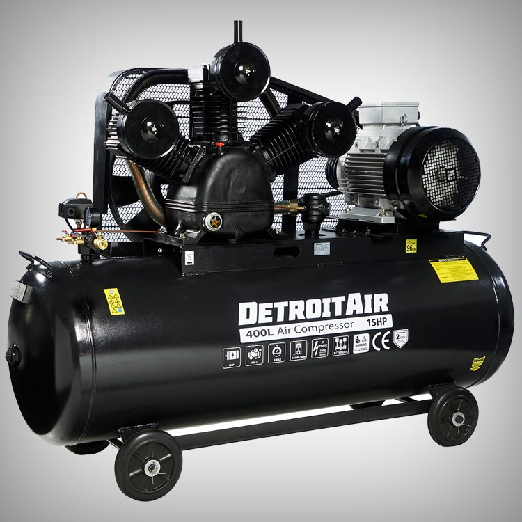 DETROIT AIR - Two Stage Piston Compressors
