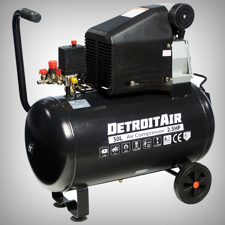 DIY Piston Compressors From DETROIT AIR