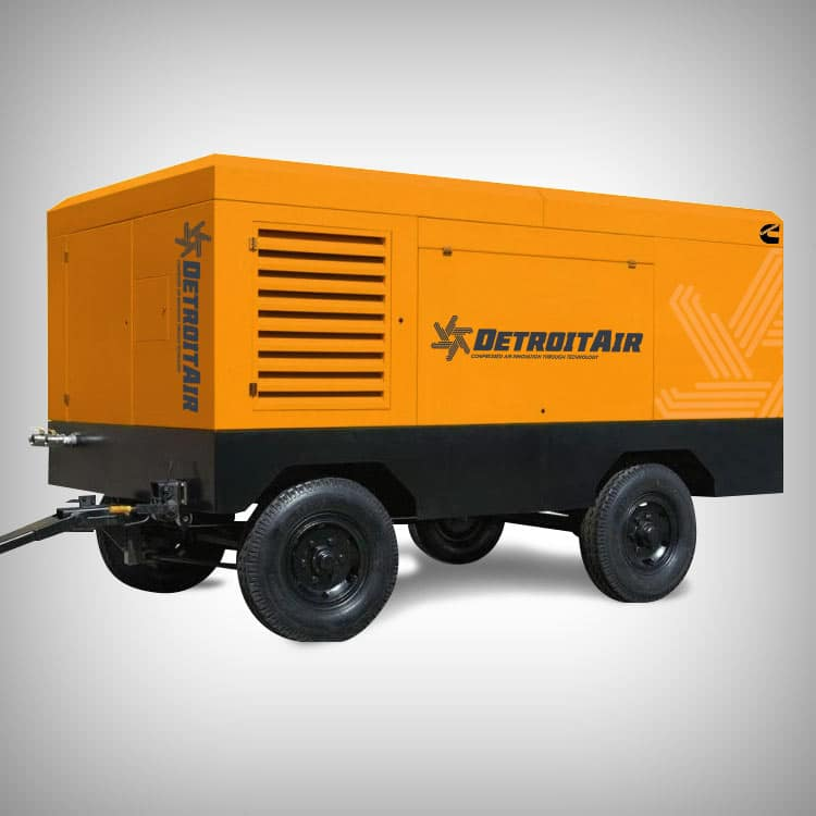 Detroit Air - Portable Diesel Compressors
