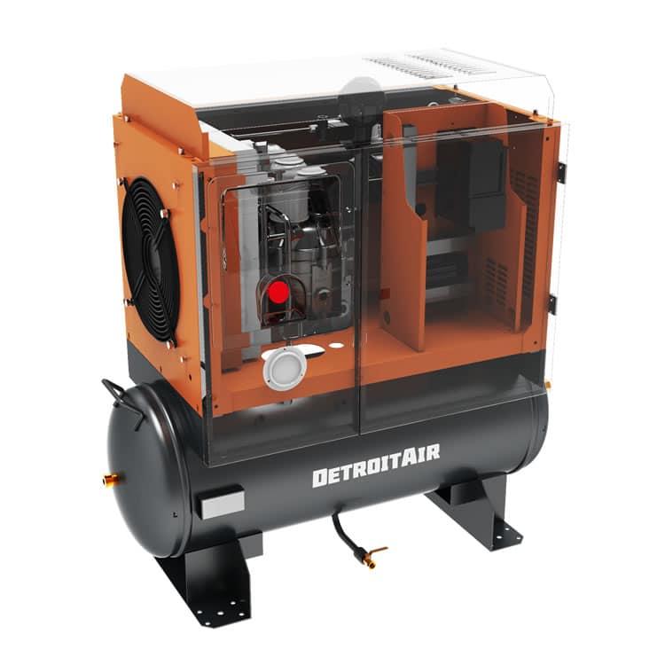 Detroit Air Screw Compressor